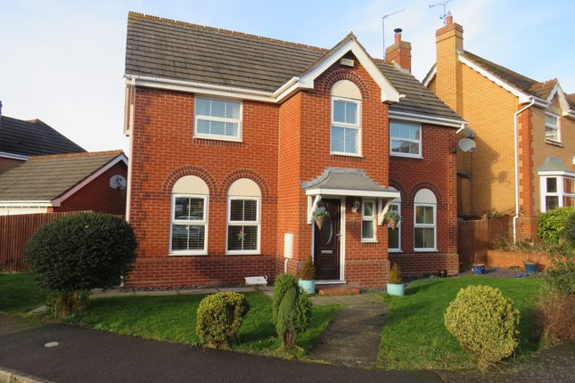 Thumbnail Detached house for sale in The Choakles, Wootton, Northampton