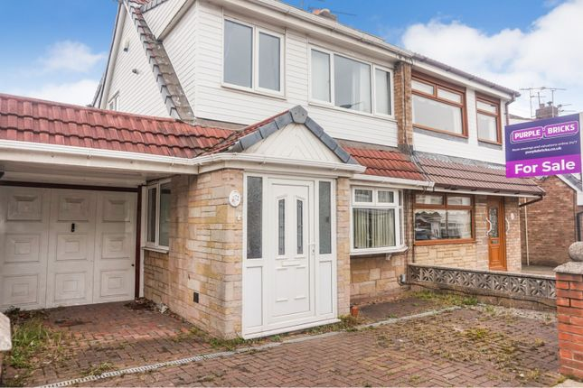3 bed semi-detached house for sale in Sandringham Drive, St. Helens