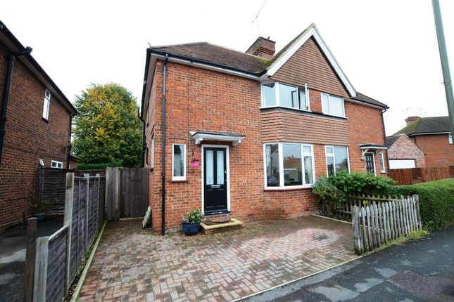 Thumbnail Semi-detached house to rent in Victoria Avenue, Camberley