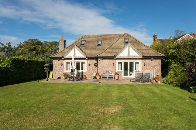 Thumbnail Detached bungalow for sale in Welsh Row, Nether Alderley, Macclesfield