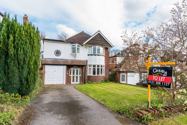 Thumbnail Detached house to rent in Jordan Road, Sutton Coldfield, West Midlands