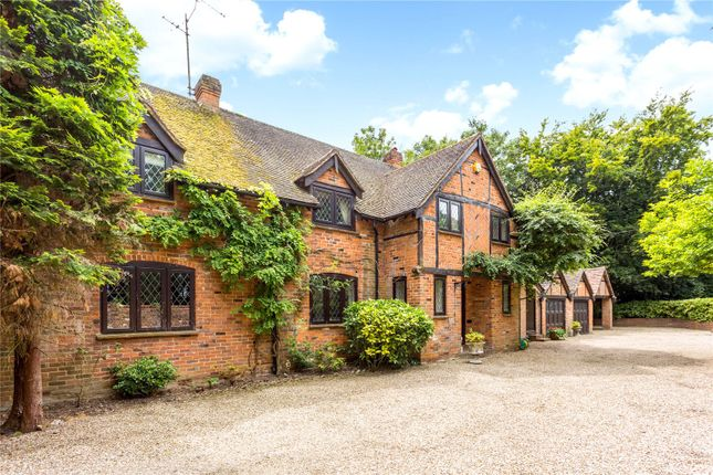Thumbnail Detached house for sale in Burchetts Green Lane, Littlewick Green, Maidenhead, Berkshire