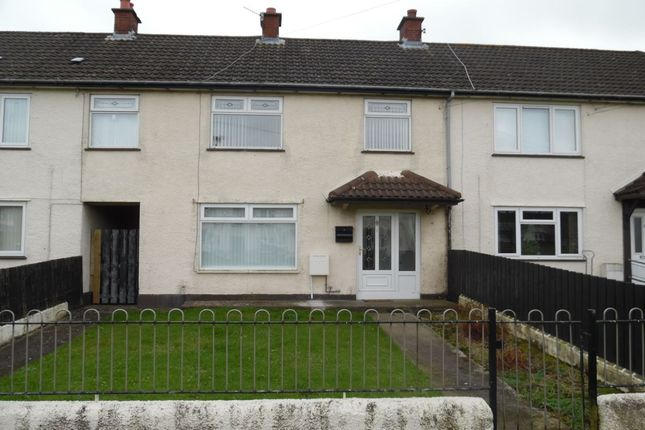 Thumbnail Terraced house to rent in Clonmore Walk, Newtownabbey
