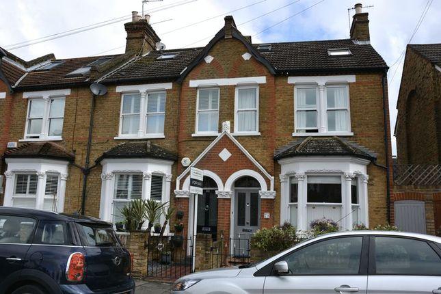 Thumbnail Terraced house for sale in Connaught Road, Teddington