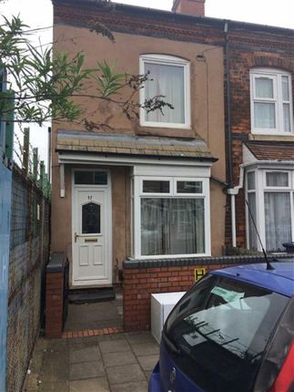 Thumbnail Property to rent in Coronation Road, Saltley, Birmingham