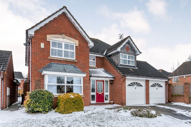 4 bed detached house for sale in Burnt Oak Close, Nottingham, Nottinghamshire
