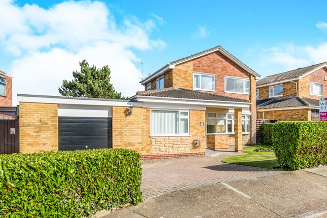 Thumbnail Detached house for sale in Rowan Way, Lowestoft