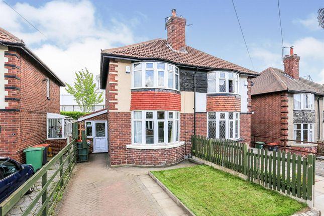 Thumbnail Semi-detached house for sale in Greyshiels Avenue, Headingley, Leeds