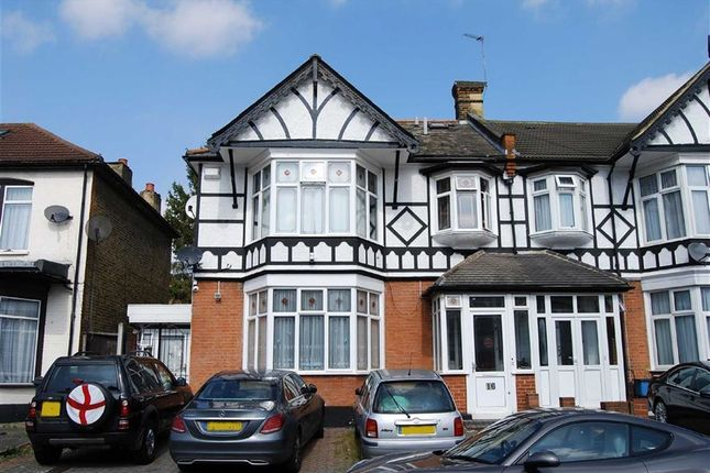 Thumbnail End terrace house for sale in Clarendon Gardens, Ilford, Essex