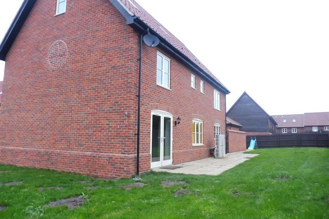 Thumbnail Detached house to rent in Mount Pleasant Drive, East Harling, Norwich