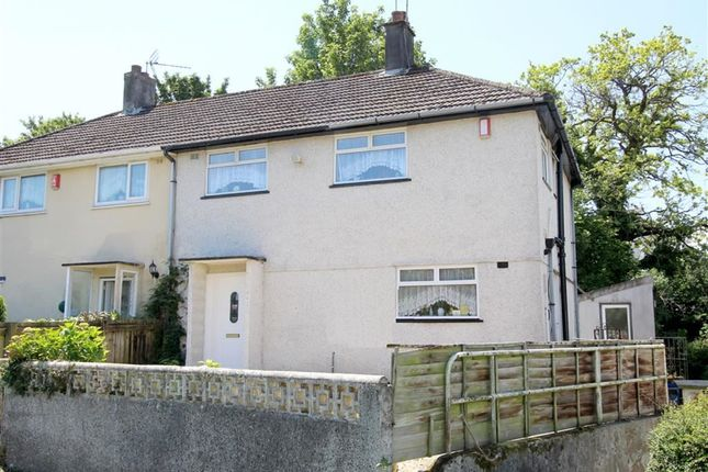 Thumbnail Semi-detached house for sale in Melrose Avenue, Pennycross, Plymouth