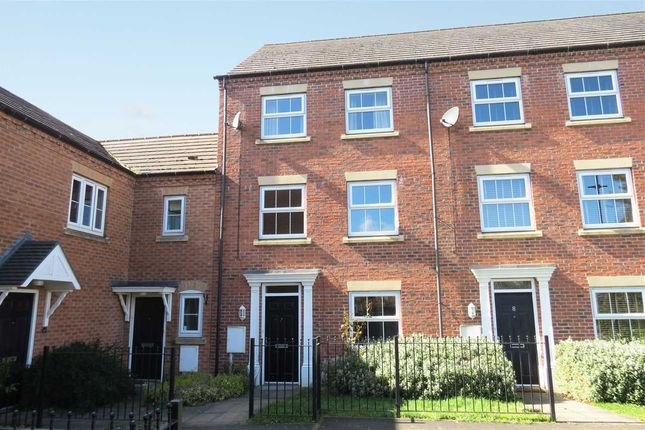 Thumbnail Town house for sale in Pentland Drive, Greylees, Sleaford