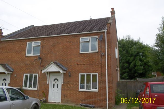 Thumbnail End terrace house to rent in Argyle Gardens, Wisbech