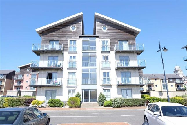 Thumbnail Flat for sale in Romanza House, Barry, Vale Of Glamorgan