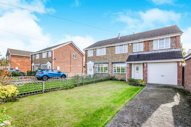 Thumbnail Semi-detached house for sale in Crossfields, Overton, Wakefield