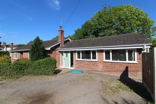 Thumbnail Detached bungalow for sale in Silver Birch, Tilley Road, Wem, Shropshire