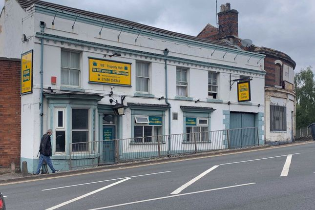 Thumbnail Commercial property for sale in Station Street, Stoke-On-Trent, Staffordshire