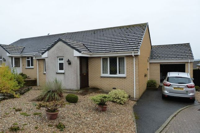Thumbnail Detached bungalow to rent in Hazelmead, Liskeard