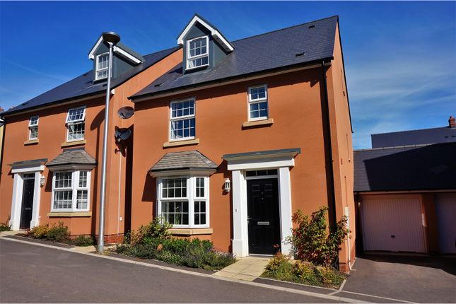 Thumbnail Detached house for sale in Leworthy Drive, Exeter