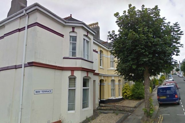 Thumbnail Town house to rent in May Terrace, Mutley, Plymouth