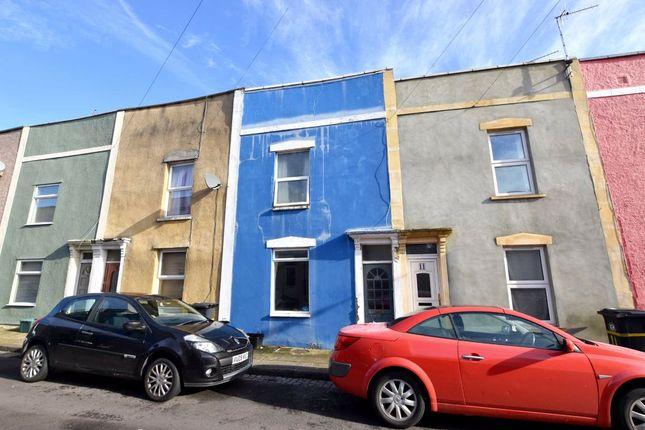 Thumbnail 2 bed terraced house for sale in Wells Street, Ashton Gate, Bristol