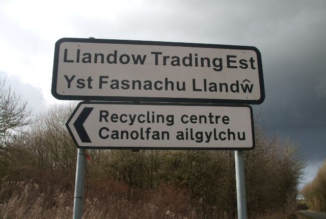 Land to let in Llandow Trading Estate, Cowbridge