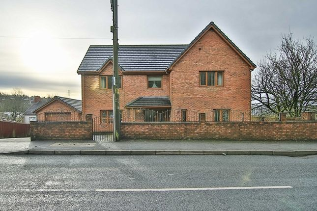 Thumbnail Detached house for sale in Beaufort Hill, Beaufort, Ebbw Vale