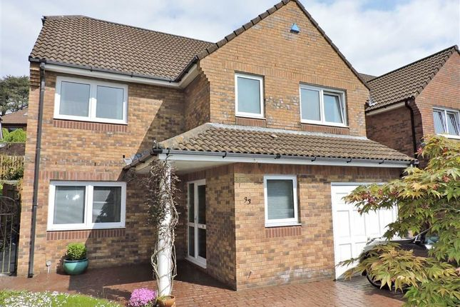 Thumbnail Detached house for sale in Whitegates, Mayals, Swansea