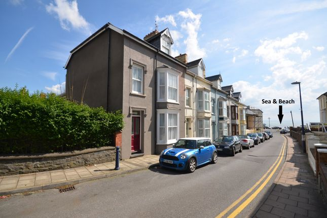 Thumbnail End terrace house for sale in Sea View Place, Aberystwyth