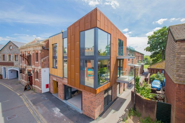Thumbnail Flat for sale in Commercial Road, Exeter