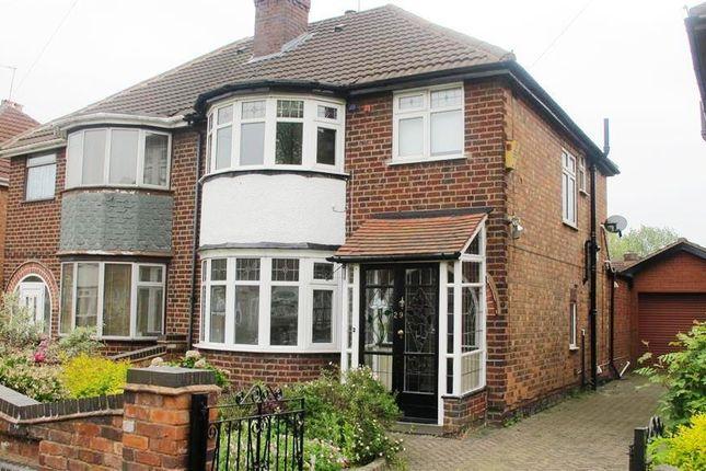 Thumbnail Semi-detached house to rent in Allman Road, Erdington, Birmingham