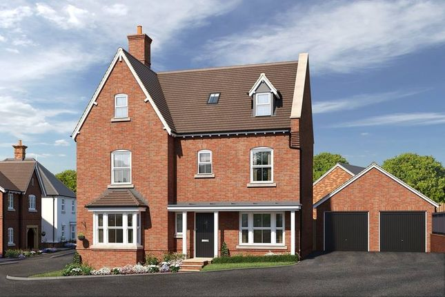 "Thumbnail Detached house for sale in ""The Ingleton"" at Cypress Road, Rugby"