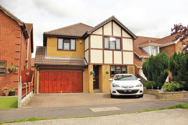 Thumbnail Detached house for sale in Papenburg Road, Canvey Island