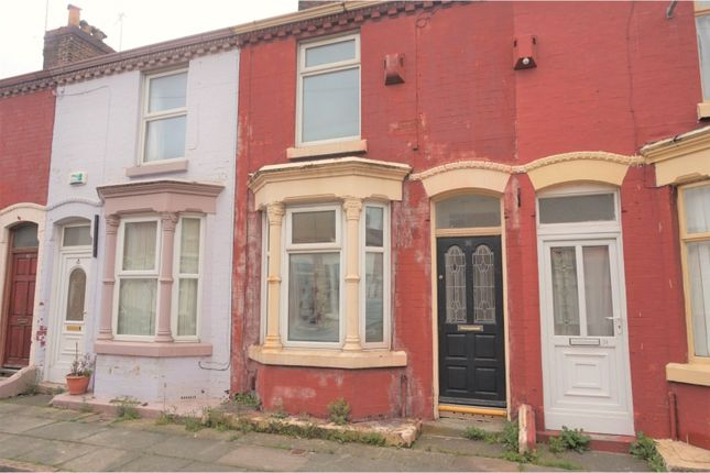 Thumbnail Terraced house for sale in Strathcona Road, Liverpool