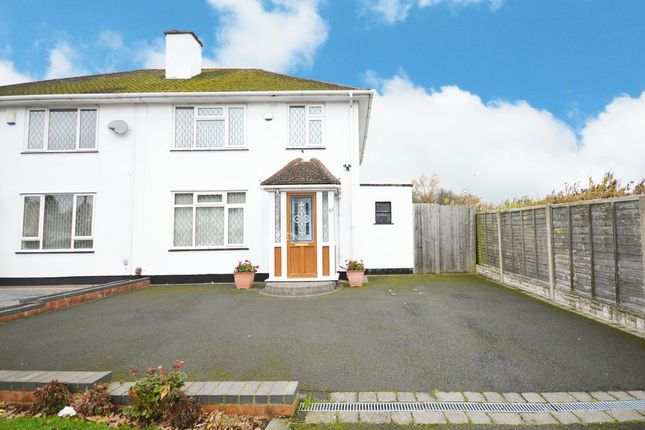Thumbnail Semi-detached house for sale in Grenville Road, Shirley, Solihull