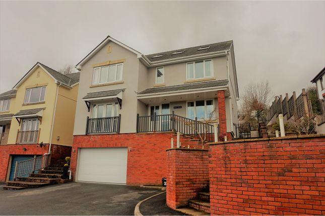 Thumbnail Detached house for sale in Oaks Court, Pontypool