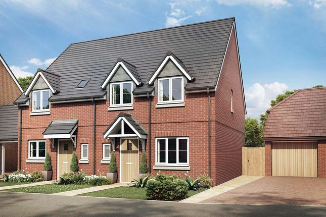 Thumbnail Terraced house for sale in The Lily, Owsla Park, Bloswood Lane, Whitchurch, Hampshire