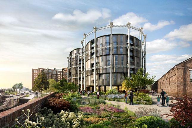 Thumbnail Flat for sale in Gasholders N1C, London,