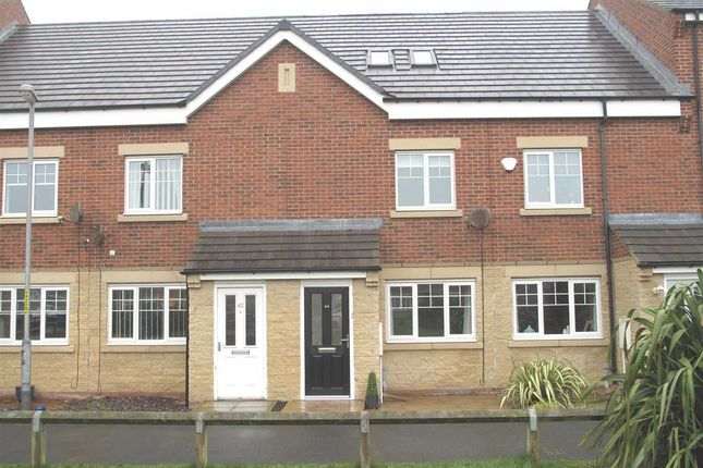 Thumbnail Terraced house to rent in Trident Drive, South Shore, Blyth