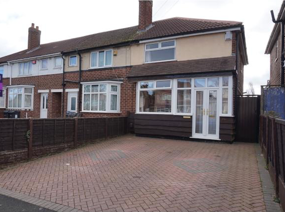 Thumbnail Terraced house to rent in Dyas Road, Great Barr, Birmingham