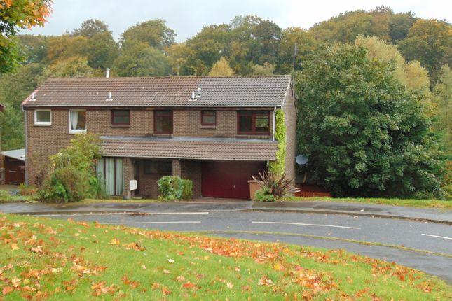 Thumbnail Semi-detached house to rent in Hallcroft Green, Ratho, Newbridge