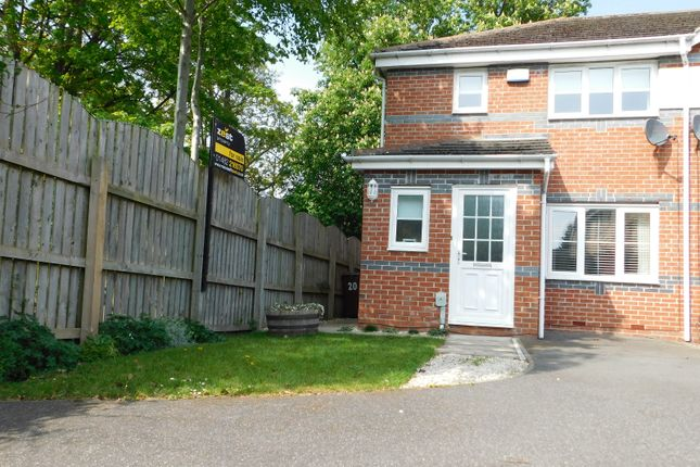3 bed end terrace house for sale in Pinderfield Close, East Hull