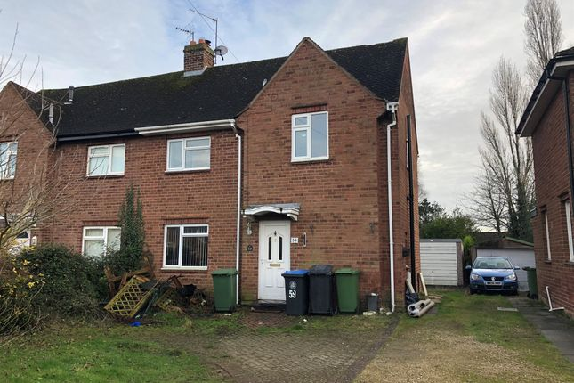 3 bed semi-detached house for sale in Watts Road, Studley B80
