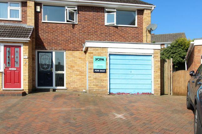 Thumbnail Semi-detached house for sale in Cantreyn Drive, Bridgnorth