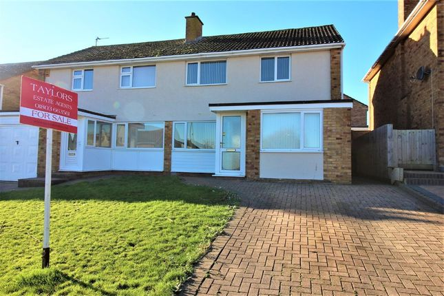 4 bed semi-detached house for sale in Roselands Drive, Paignton