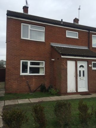 Thumbnail Semi-detached house to rent in Bevan Avenue, New Rossington, Doncaster