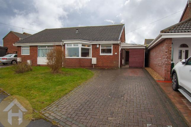 Thumbnail Semi-detached bungalow for sale in Gainsborough Avenue, Royal Wootton Bassett, Swindon