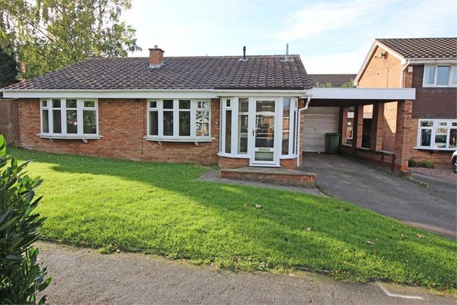 Thumbnail Detached bungalow for sale in Scammerton, Wilnecote, Tamworth, Staffordshire
