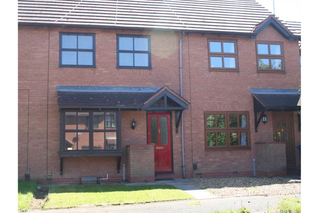 Thumbnail Terraced house for sale in Round Oak Drive, Wellington Telford