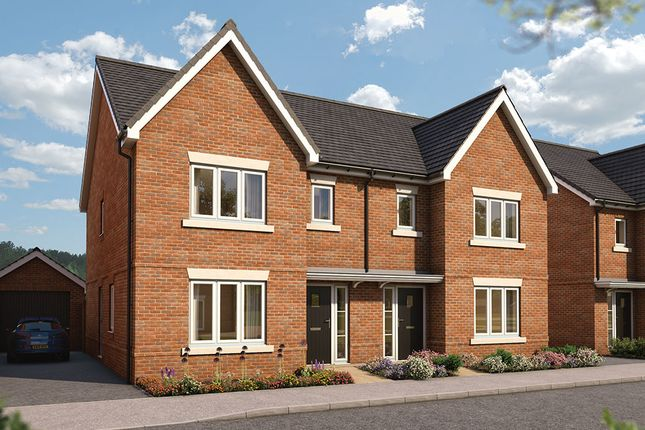 """Thumbnail Semi-detached house for sale in """"The Cypress"""" at Old Broyle Road, West Broyle, Chichester"""